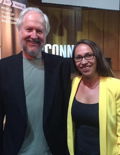 Douglas Crockford and Rebeca Gelenscer