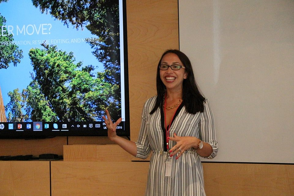 Rebeca Gelenscer spoke at Xerox