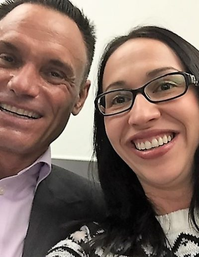 Kevin Harrington and Rebeca Gelenscer